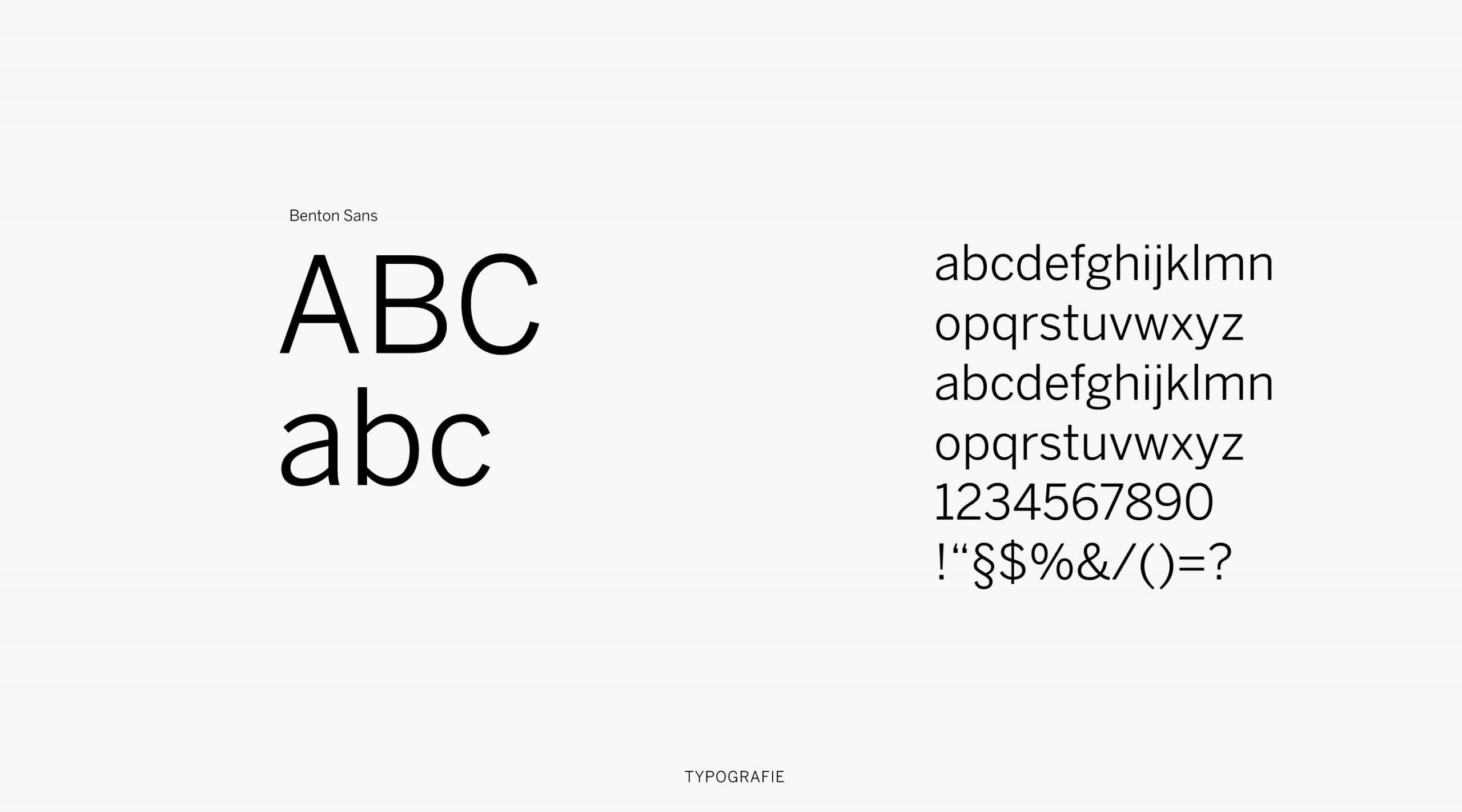 Marcel Tilmann Branding Typografie – Uthmöller und Partner