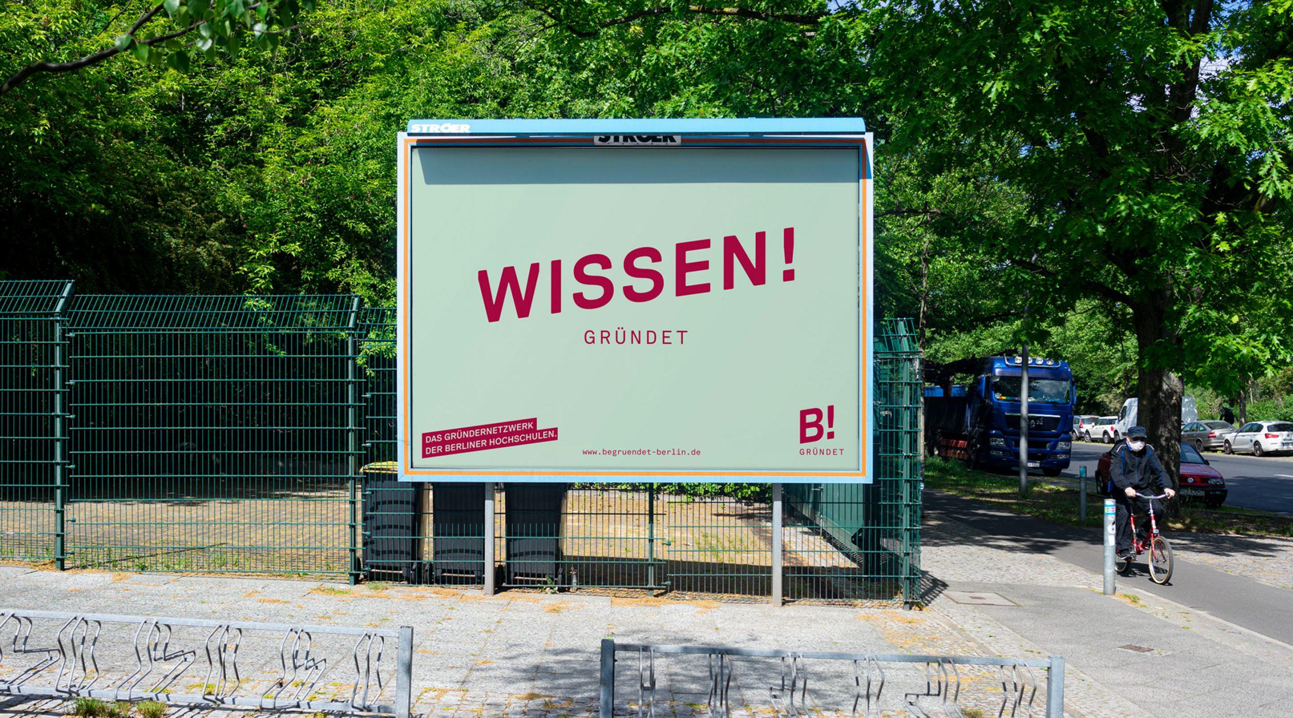 Begründet Berlin Branding – Wissen! gründet als Poster – Uthmöller und Partner