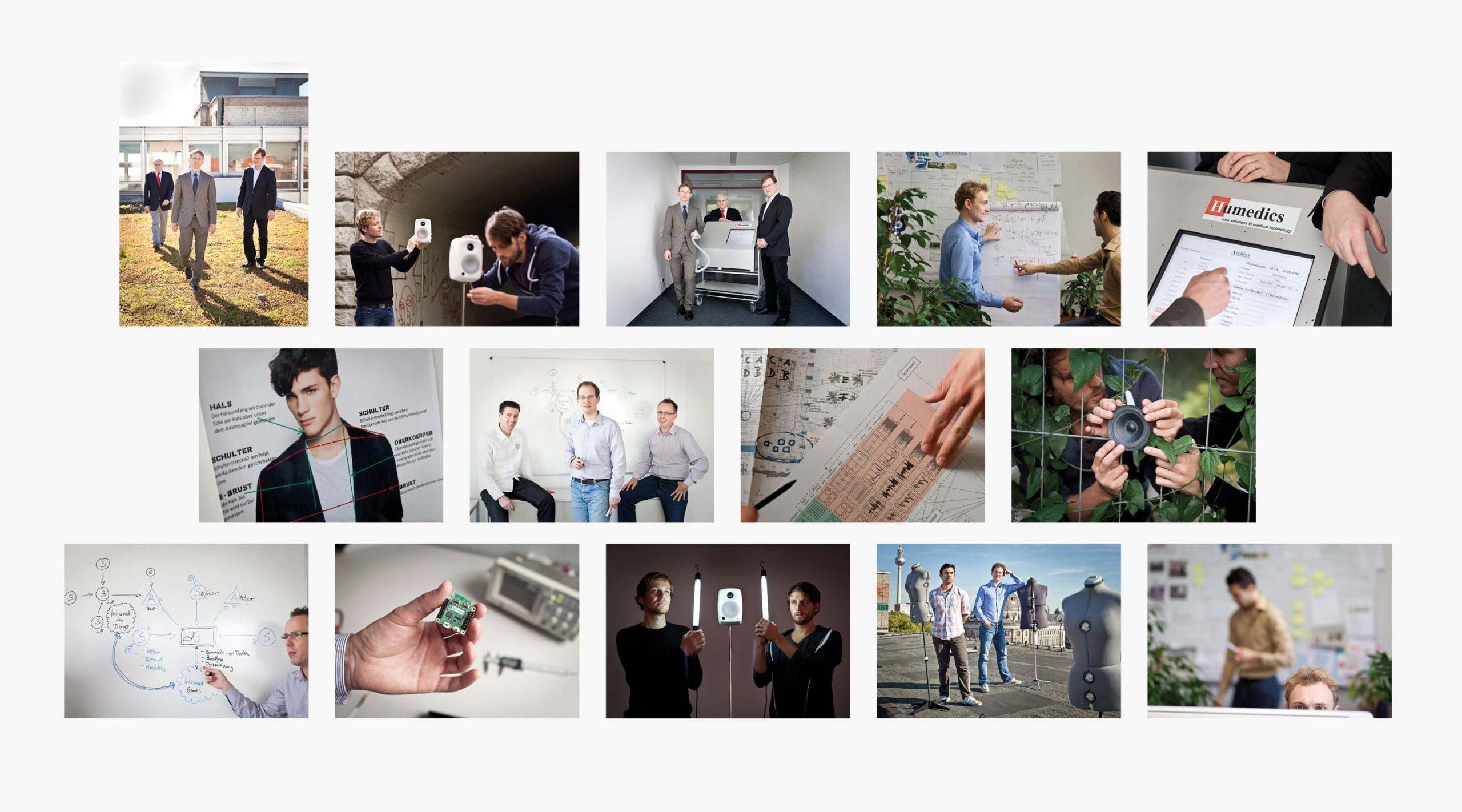 Begründet Berlin Branding – Übersicht der Bildsprache – Uthmöller und Partner