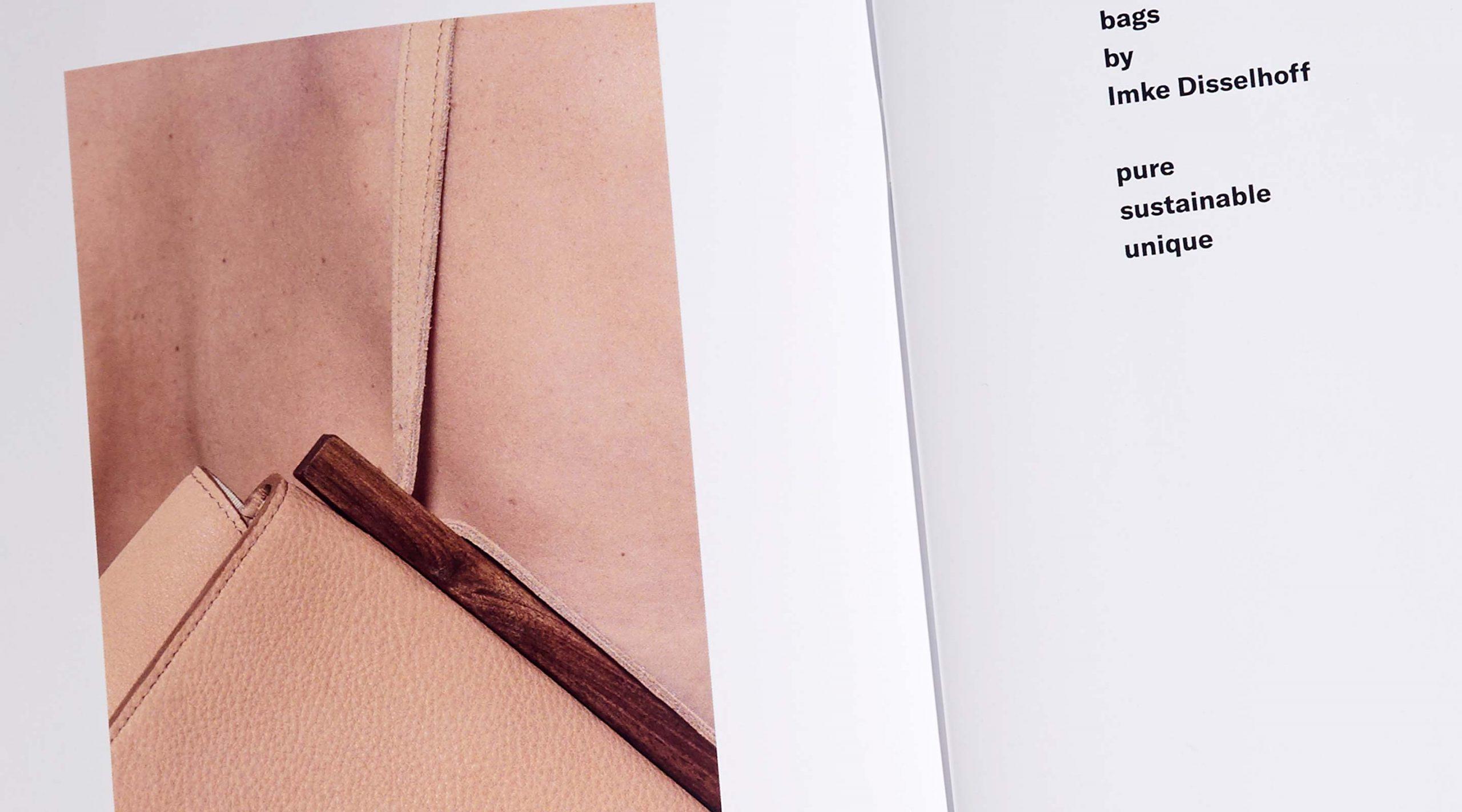 Disselhoff Branding Lookbook Detail – Uthmöller und Partner