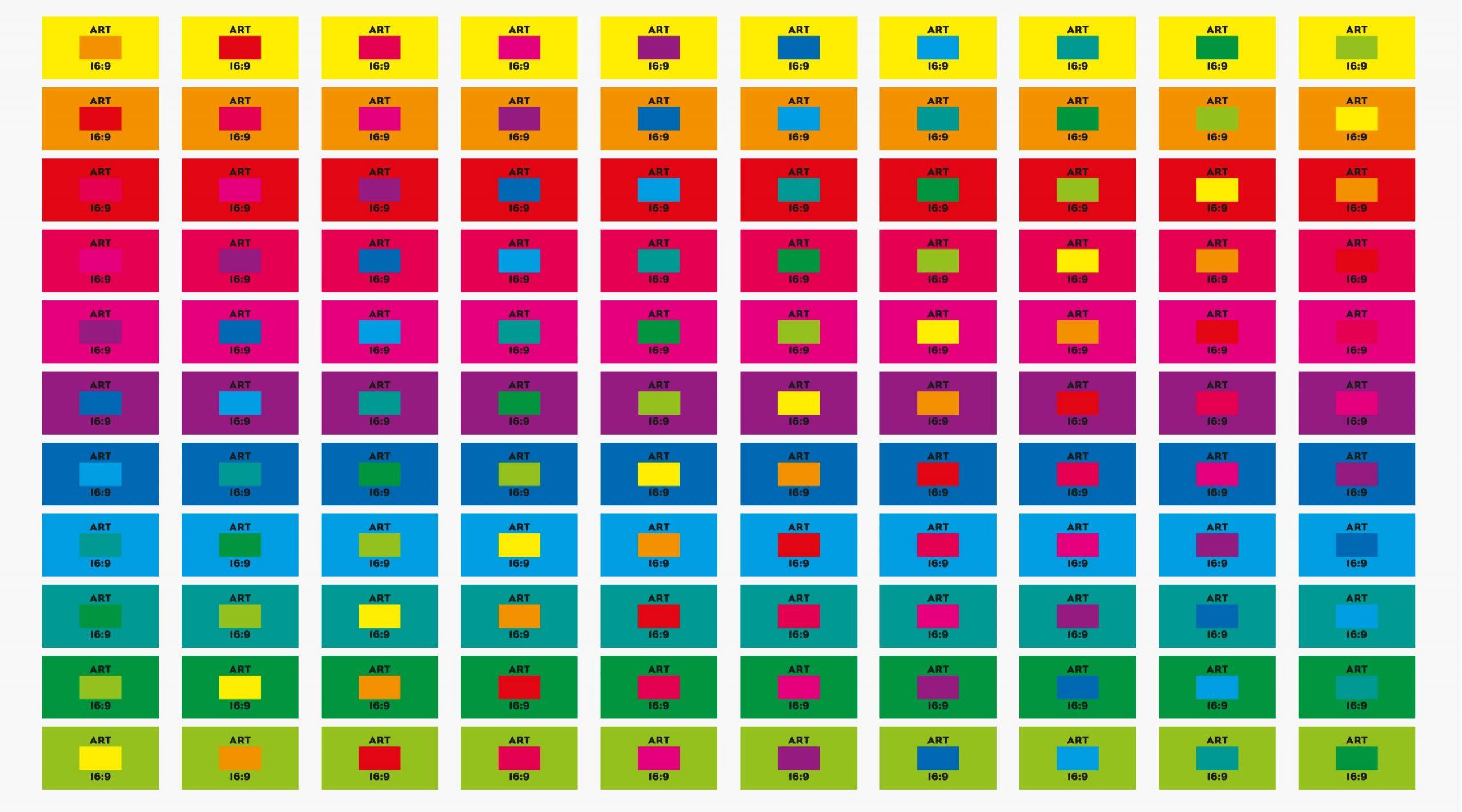 ikono.TV Branding visuelles Leitmotiv dynamisches Farbkonzept – Uthmöller und Partner