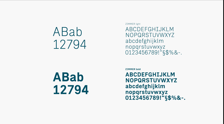 Leverton Corporate Design Typografie Hausschrift von Uthmöller und Partner