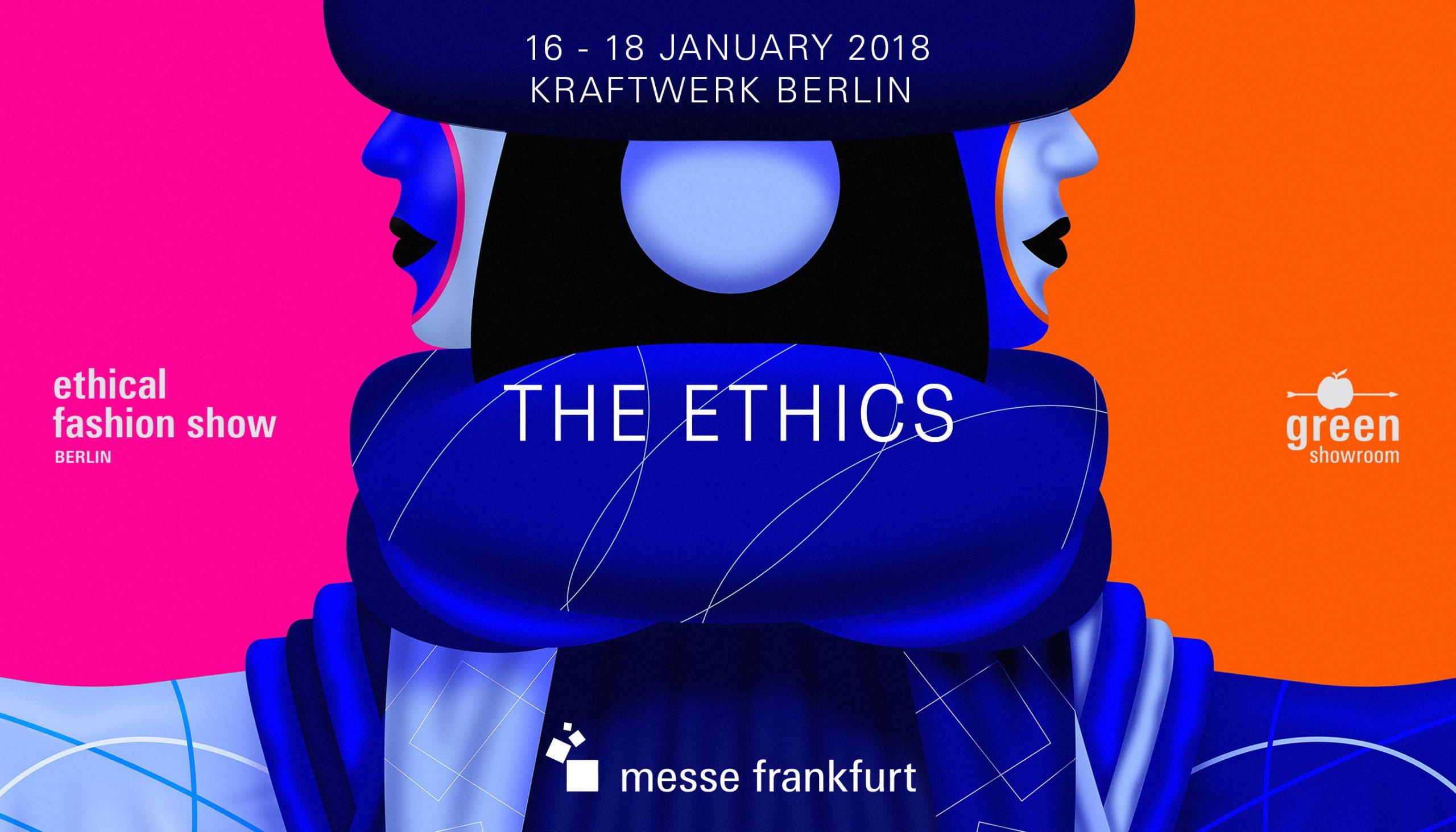 Messe Frankfurt – Ethical Fashion Show und Green Showroom Brandbook Detail Typografie Januar Keyvisual Januar 2018 – Uthmöller und Partner