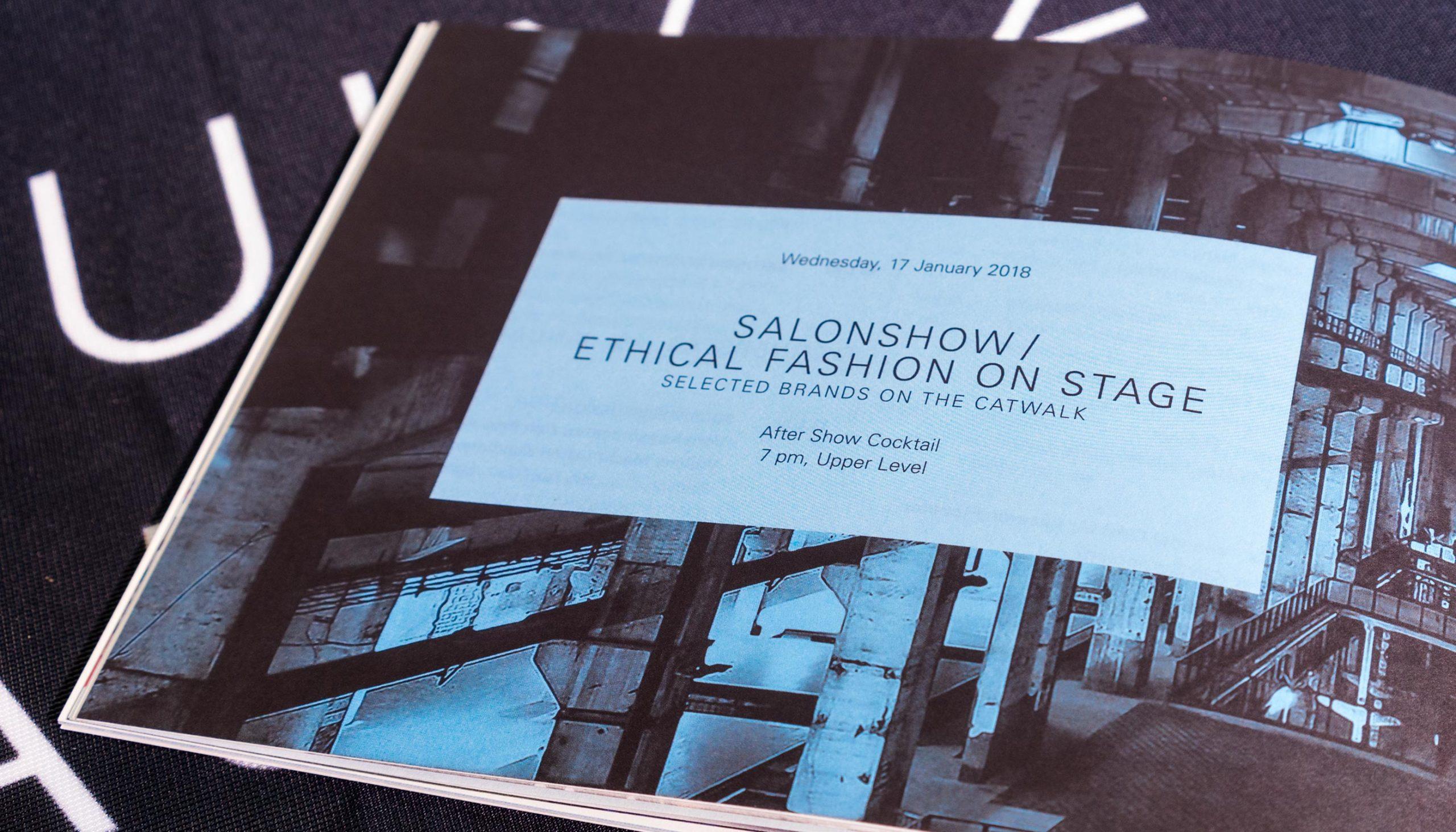 Messe Frankfurt – Ethical Fashion Show und Green Showroom Brandbook Detail Typografie 2018 Brandbook Typografie Detail – Uthmöller und Partner